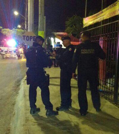 Hallan presunta granada en la entrada del fraccionamiento Quétzales en la Región 523 de Cancún