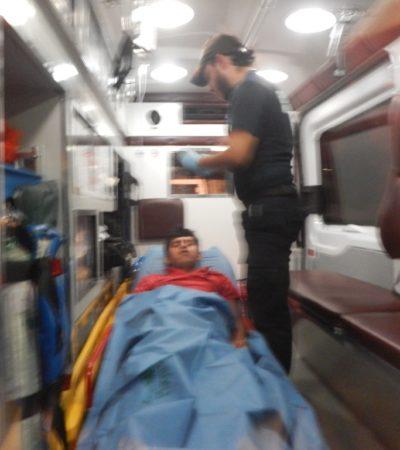 Dos heridos durante una riña de albañiles en obra del nuevo parque del grupo Xcaret