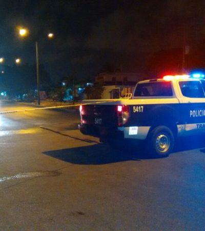Asaltan farmacia y cierran avenida de Cancún por falsa amenaza de explosivos
