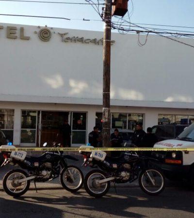 CIERRA FEBRERO CON OTRO BALEADO EN CANCÚN: Presunto intento de ejecución o robo a dueño de hotel Terracaribe en la Región 64