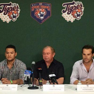Velocidad y pitcheo, la prioridad de la nueva directiva de Tigres de Quintana Roo
