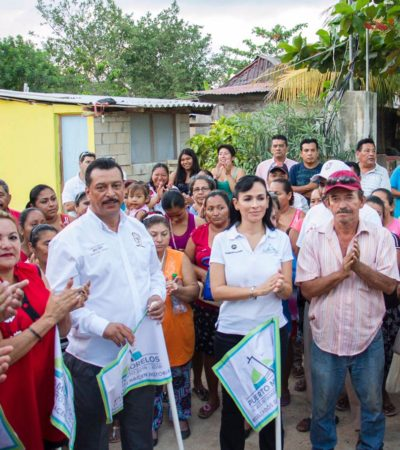 Dan banderazo a nueva ruta de transporte en Puerto Morelos
