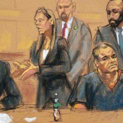 'EL CHAPO' SE DECLARA INOCENTE: Comparece el capo ante un tribunal federal en Nueva York; se quejan de las condiciones de su encierro