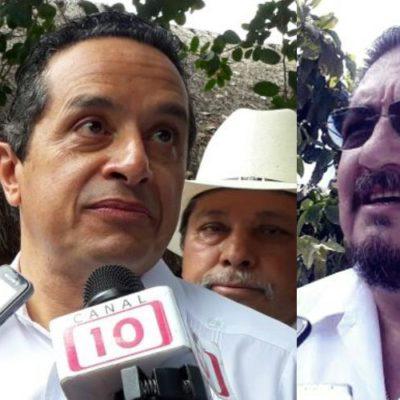"""""""LO QUE BIEN SE APRENDE NO SE OLVIDA"""": Carlos Joaquín gobierna como priista y lo hace muy bien, dice líder de la CTM"""