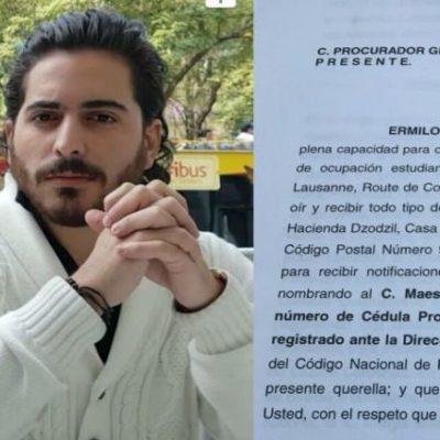 SALTA OTRO ESCÁNDALO DE BORGE POR DESPOJOS: Denuncian a ex  Gobernador por privación ilegal de la libertad en contra de hijo de prominente empresario yucateco