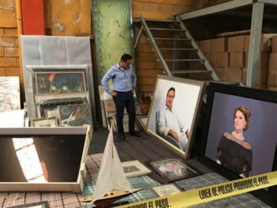 """""""MEREZCO ABUNDANCIA"""": Hallan en Córdoba bodega propiedad de Javier Duarte y su esposa con supuestas evidencias incriminatorias"""