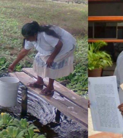 Acusan a Sefiplan de desacatar orden de juez para liberar recursos para dotar de agua a San Antonio Soda; dan ultimátum