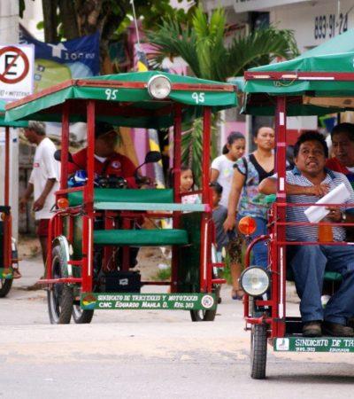 Ordenan el transporte de motos y tricitaxis en el poblado de Leona Vicario