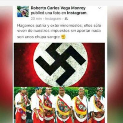 Cesan a funcionario poblano que pidió exterminar a los Voladores de Papantla