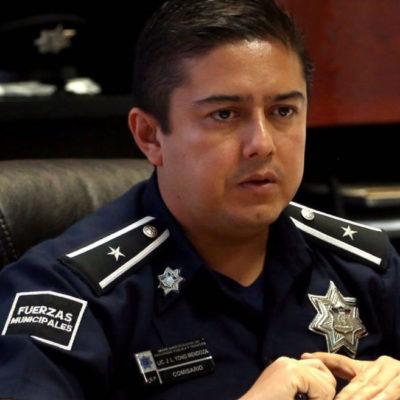 """""""No bajaremos la guardia"""", dice jefe policiaco de Cancún tras ataque a policías; están heridos, pero estables, reporta"""