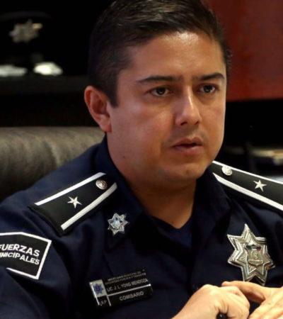 """Tras balazos contra restaurante, dice jefe policiaco de Cancún que se reforzará vigilancia con retenes """"más escupulosos"""""""