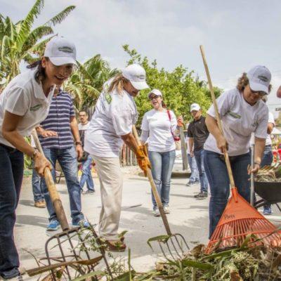 Anuncia Alcaldesa transformación de la colonia '23 de Enero' con la pavimentación de calles y construcción de banquetas y guarniciones