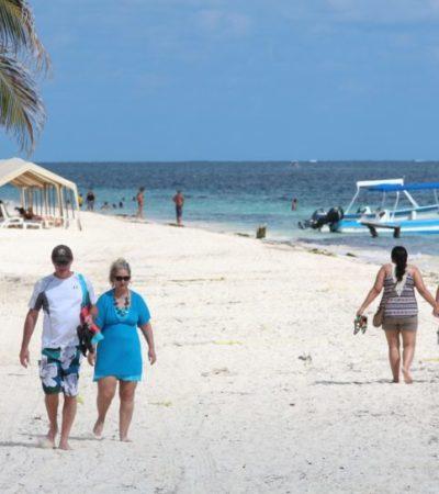 Y EN UNA HORA Y 20 MINUTOS LLEGARÁ UNA OLA DE 3 METROS: Participará Puerto Morelos en simulacro de tsunami