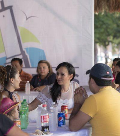 Se reúne Laura Fernández con artesanos de Puerto Morelos, Leona Vicario y Central Vallarta
