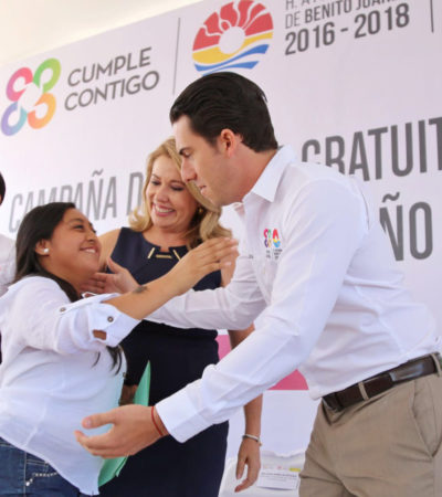 Inaugura Remberto Estrada campaña de cirugía gratuita de labio y paladar hendido