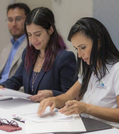 Firma Puerto Morelos convenio para el intercambio de información con la Sedesol