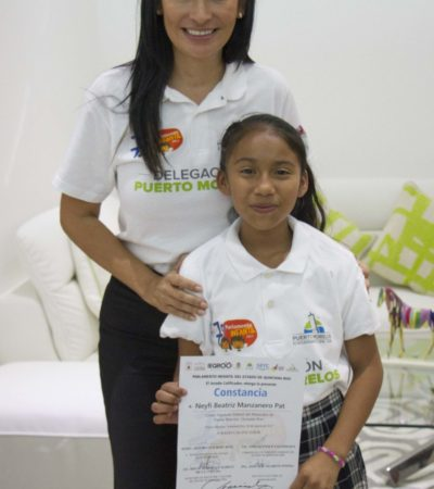 Elige Puerto Morelos a representantes del Séptimo Parlamento Infantil 2017