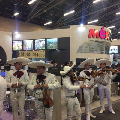 Promocionan a Puerto Morelos en la feria turística ANATO 2017 de Bogotá