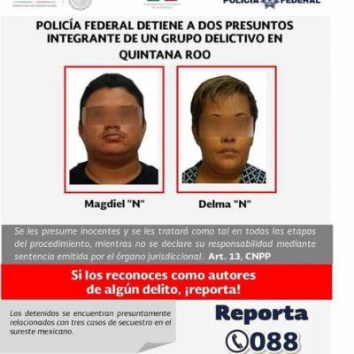 CAEN PRESUNTOS SECUESTRADORES EN PLAYA: Detienen a pareja de tabasqueños que se ocultaba en Las Palmas II