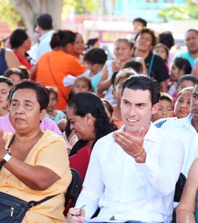 Anuncia Alcalde paquete de obras para la Región 220 de Cancún