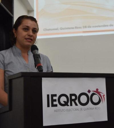 Las mujeres no necesitan de 'padrinos políticos' para avanzar, sino capacitación y conocer sus derechos: Claudia Carrillo