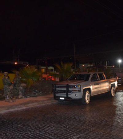 CATEAN CASA DE SEGURIDAD EN CANCÚN: Caen 'polleros' e ilegales en la Lombardo Toledano en operativo de federales y marinos