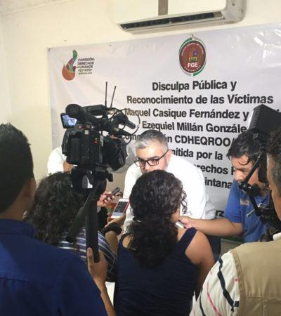 RECHAZA CASIQUE 'RIDÍCULA' DISCULPA: Acusan al Gobernador y al Fiscal de no proceder contra los 43 judiciales y MP's que torturaron a ex escolta