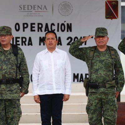 """RECHAZA CARLOS PRESIONES DEL NARCO: Tras nuevo ataque a un bar en Cancún, dice Gobernador que la tranquilidad """"no se negocia"""""""