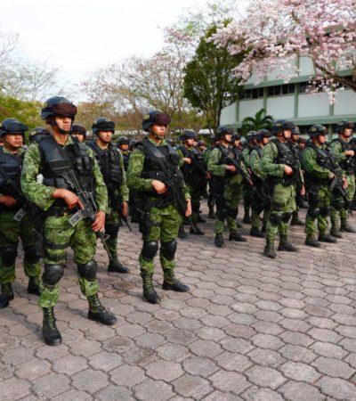 MANDAN REFUERZOS MILITARES PARA CANCÚN Y LA RIVIERA MAYA: Llegan 600 soldados para dar seguridad a los principales destinos turísticos de QR