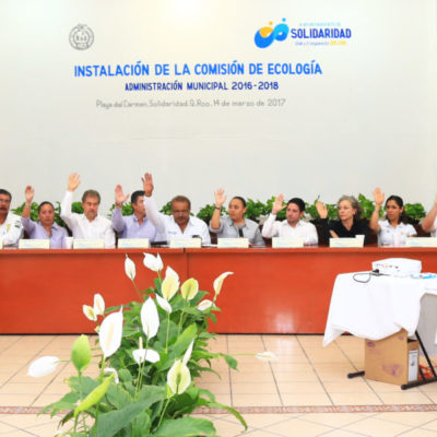 """""""ESTE PARAÍSO ES DE TODOS Y A TODOS NOS CORRESPONDE CUIDARLO"""": Instalan Comisión de Ecología en Solidaridad"""