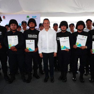 Entra en operaciones la Policía Procesal y se instala el Sistema Estatal de Atención a Víctimas del Estado de Quintana Roo