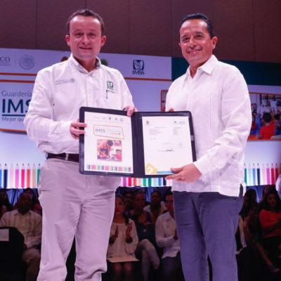 Darán guarderías del IMSS constancia de validez de primer año de preescolar en Quintana Roo