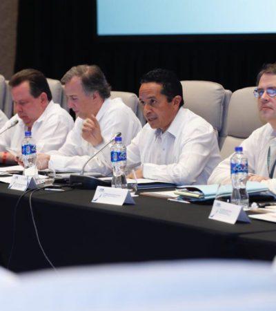 Asiste el Gobernador a la inauguración de la CCCXI Reunión de la Comisión Permanente de Funcionarios Fiscales en Cancún