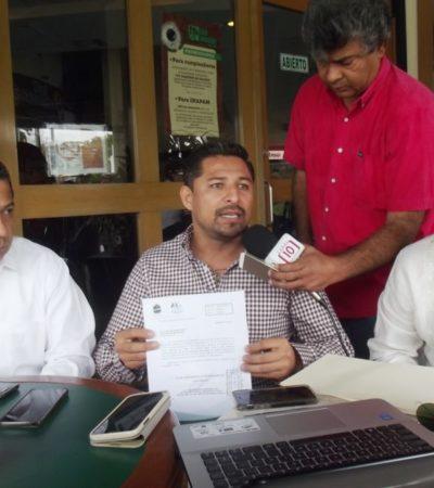 Reclama PRD sancionar a funcionarios que dejaron perder subsidio de 19 mdp del Fortaseg para Tulum