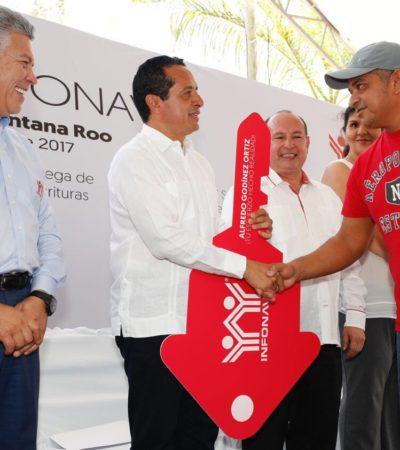 Busca Infonavit colocar 20 mil nuevo créditos de vivienda en Quintana Roo durante el 2017