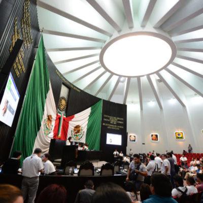 Recibe Congreso cuatro iniciativas para estudio y análisis