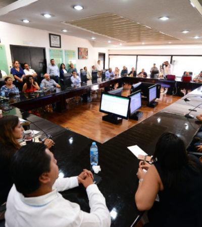 Dice Congreso del Estado que tienen total disposición para avanzar hacia un parlamento abierto