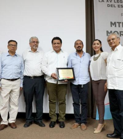 Rinde Congreso homenaje póstumo a Juan José Morales, por su compromiso con la difusión de la ciencia