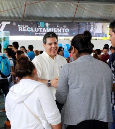 Organizan Feria de Reclutamiento para Estadías Profesionales