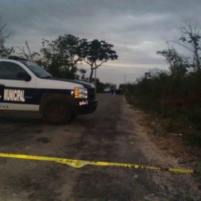 HALLAN A CALCINADO EN CANCÚN: Ejecutan y abandonan cadáver en la colonia El Pedregal