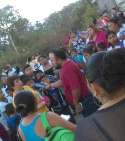 Acusan a ex director de primaria de robo en Cancún