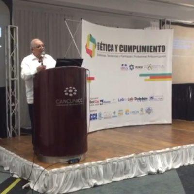 Corrupción, lo que más preocupa después de la inseguridad, aseguran en foro en Cancún