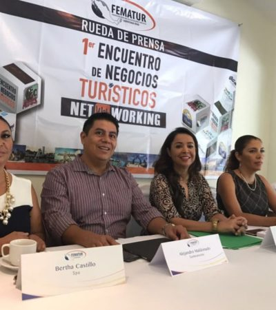 Anuncian encuentro de negocios en Cancún