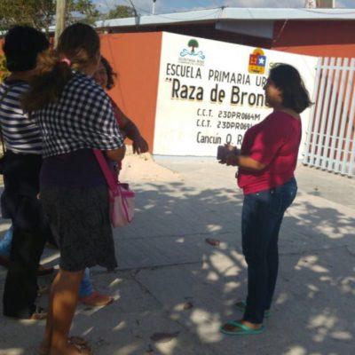 Denuncian a otro director de primaria en Cancún por presuntas irregularidades