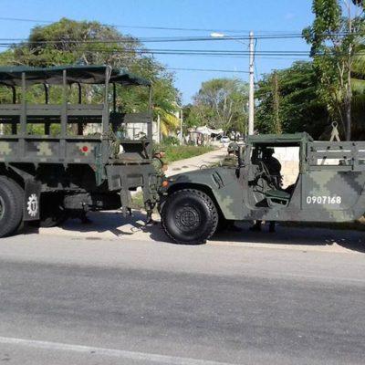 GOLPE AL NARCO EN BACALAR: Catean vivienda, detienen a miembros de 'Los Tox' y decomisan drogas