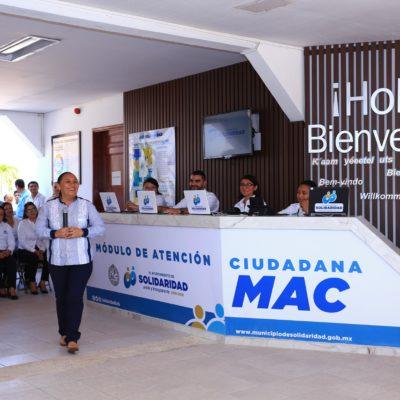 Inaugura Alcaldesa Módulo de Atención Ciudadana en Playa del Carmen
