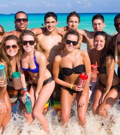 Disminuye el turismo de 'springbreaker' a Cancún, pero aseguran que ha aumentado los viajeros de mayor poder adquisitivo
