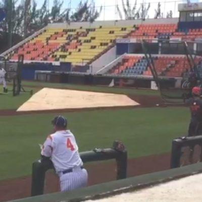 Con el 80% de sus peloteros, inicia pretemporada Tigres de Quintana Roo