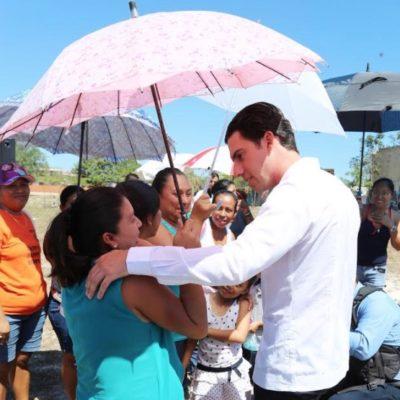 """Asegura Remberto Estrada que se está haciendo un """"gobierno histórico"""" para los benitojuarenses"""