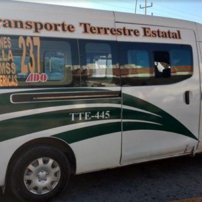 TTE CONTAMINA Y AFECTA EL TRANSPORTE PÚBLICO: Se 'montan' en las rutas municipales con la protección del estado, exhibe Luis Miguel Ramírez Razo